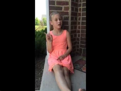 11yr old sings Try by Colbie Caillat - YouTube