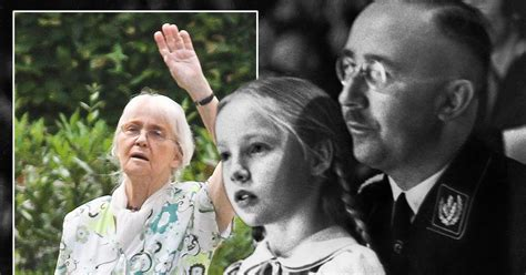'My father Heinrich Himmler was not a monster' insists