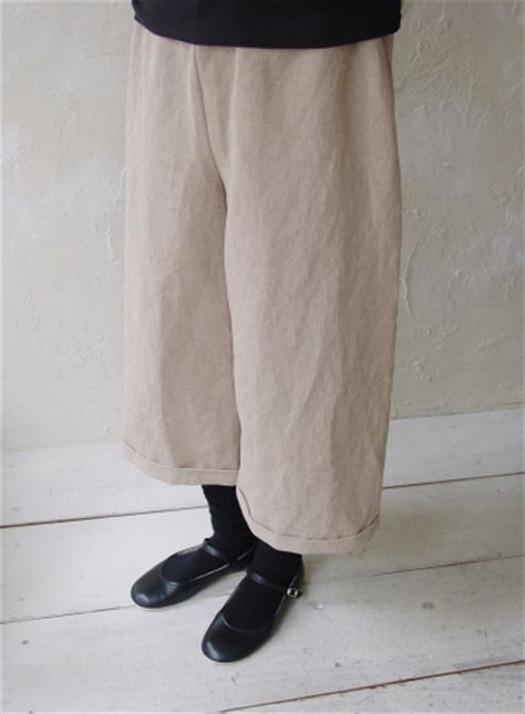 Pattern/N47 Three Quarter Length Easy Pants No