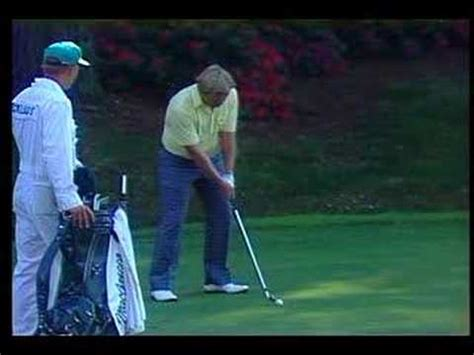 Jack Nicklaus 13th Hole 1986 Masters - YouTube