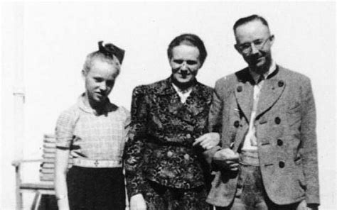 SS chief Himmler's daughter worked for German spy agency