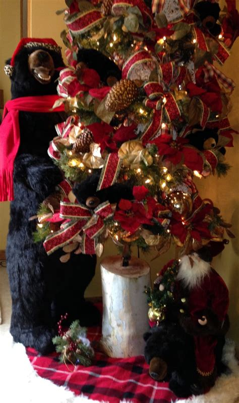2013 my black bear tree (With images)   Christmas tree