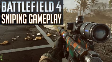BF4 SNIPER Gameplay - Battlefield 4 Sniping with SRR-61