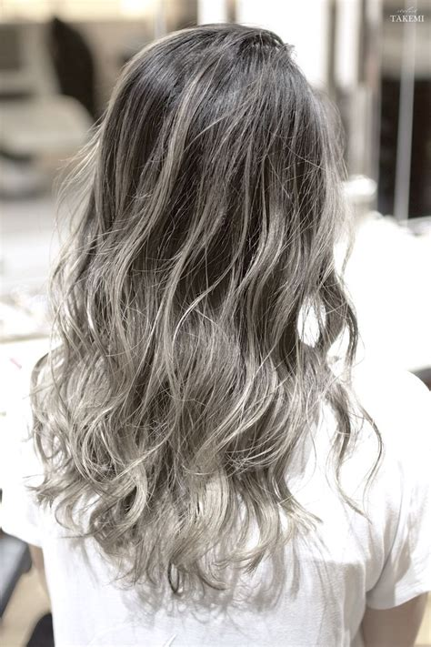 W gradation hair color【Lots of natural highlights&bleach 】 Wカラー