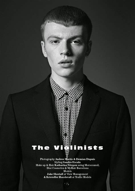 """""""The Violinists"""": Jake Shortall y Kristoffer Hasslevall"""