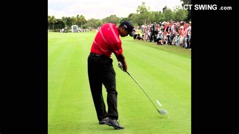 Perfect Impact Position Golf Swing - YouTube