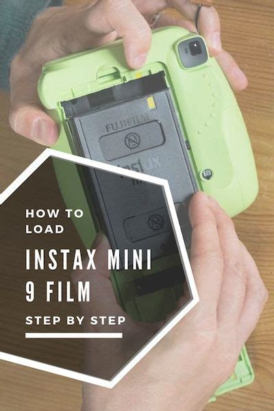 How to Load Instax Mini 9 Film – A step-by-step guide