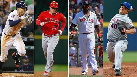 The best active MLB players of every age, from 21 to 43