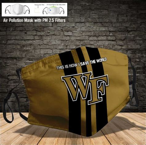 Wake Forest Demon Deacons face mask